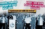 Samsunspor'un maçı korona nedeniyle iptal oldu, KADEF halısaha turnuvası düzenliyor
