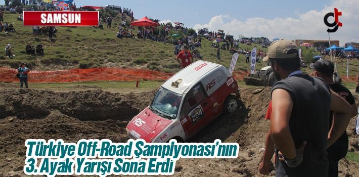 Türkiye Off-Road Şampiyonası'nın 3. Ayak Yarışı Sona Erdi