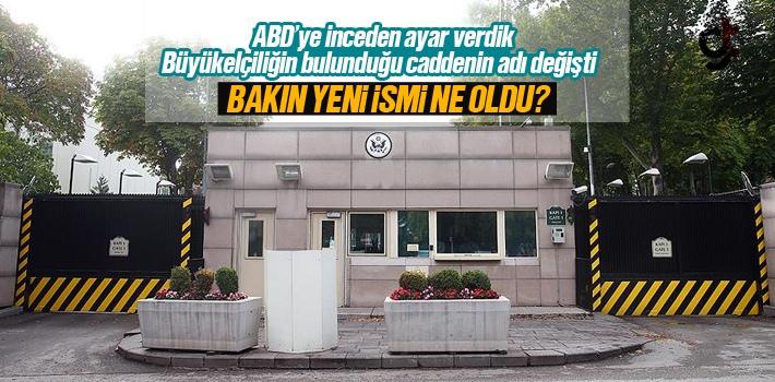 Türkiye'den ABD'ye Büyükelçilik Ayarı
