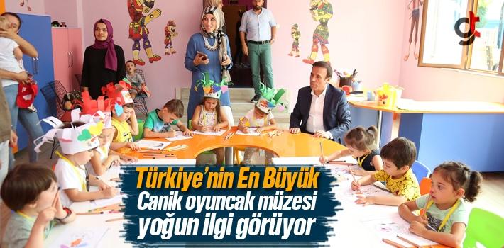 Türkiye'nin En Büyük Canik Oyuncak Müzesi Yoğun İlgi Görüyor