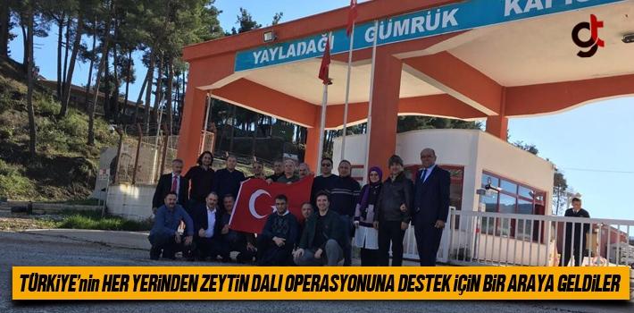 Türkiye'nin Her Yerinden Zeytin Dalı Operasyonuna Destek İçin Bir Araya Geldiler