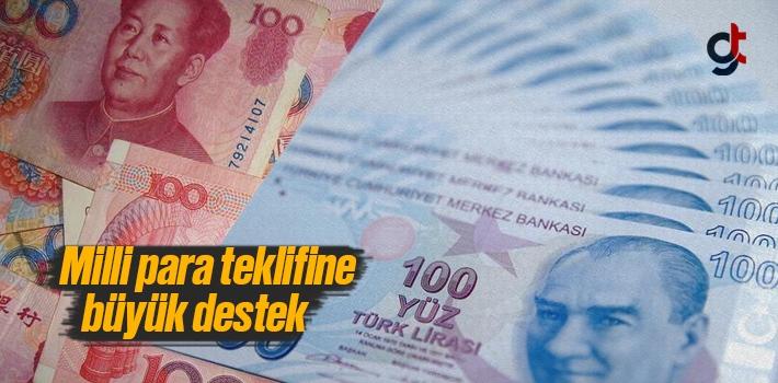 Türkiye'nin milli para teklifine Çin'den büyük destek