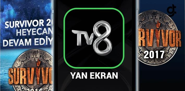 TV8 Yan Ekran Uygulaması Ücretli mi? Survivor TV8 Uygulaması Oy Verme Nasıl Yapılır?