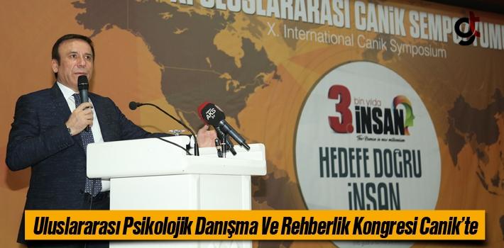Uluslararası Psikolojik Danışma Rehberlik Kongresi Canik'te