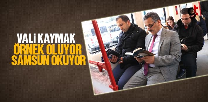 Vali Osman Kaymak Örnek Oluyor Samsun Okuyor