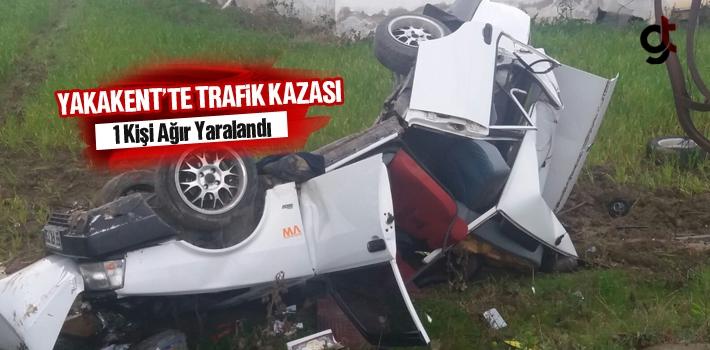 Yakakent'te Trafik Kazası