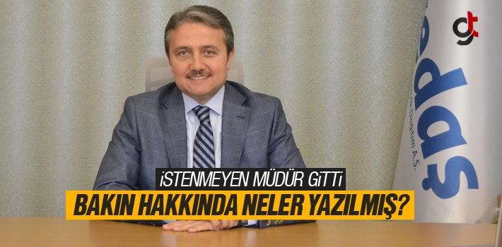 Yedaş Genel Müdürü Rıdvan Aktürk Görevinden Ayrıldı