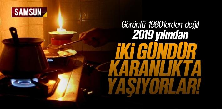 YEDAŞ Samsun'lu Müşterilerini 1980'li Yıllara Geri Döndürdü