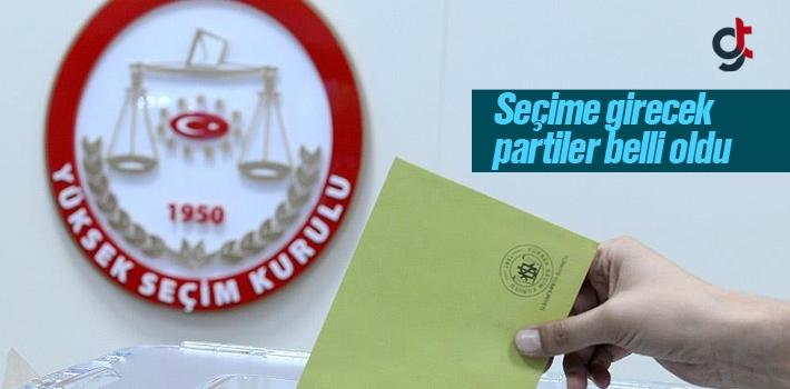 Yerel Seçimlere Hangi Partiler Girecek?