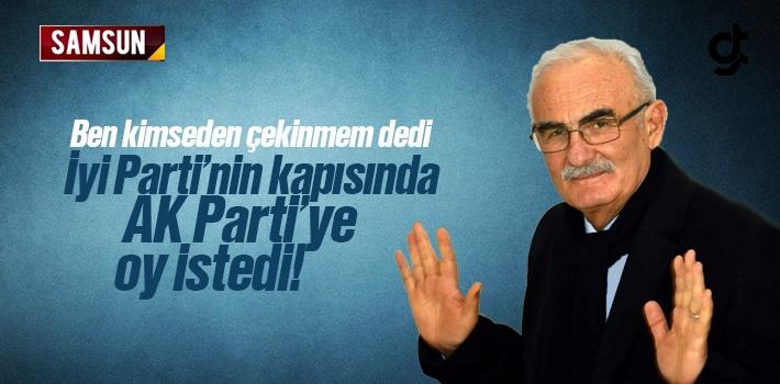 Yusuf Ziya Yılmaz İyi Partililerden AK Parti'ye Oy İstedi
