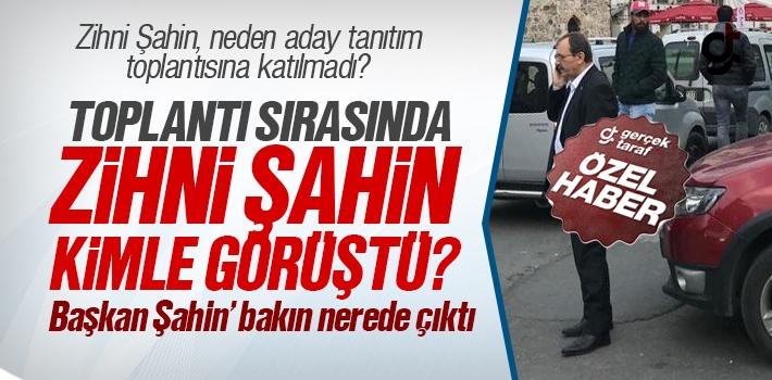 Zihni Şahin, Ortaköy'de Görüldü