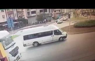 Samsun'da 2 Motosiklet Kaza Yaptı